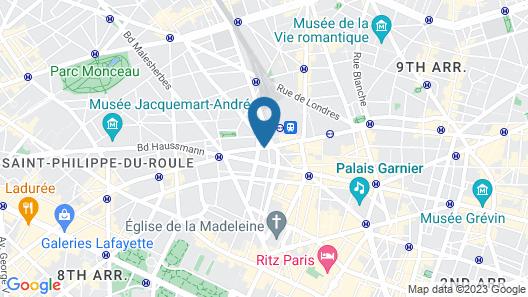 Maison Albar Hotels Le Diamond Map