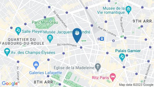 Hôtel Augustin - Astotel Map