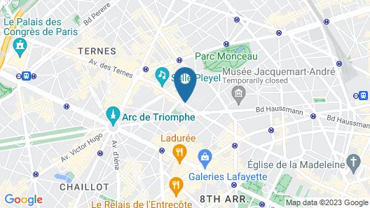 Royal Garden Champs-Elysées Map