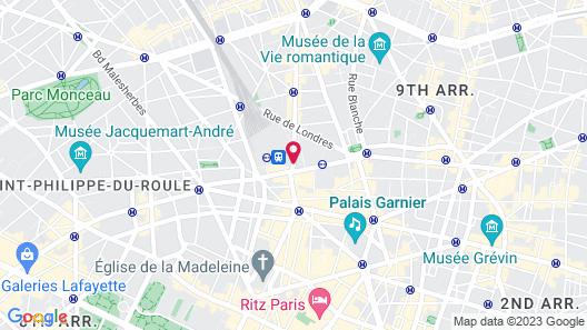 Le Grand Hotel de Normandie Map