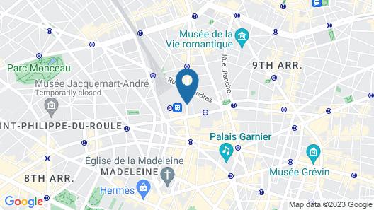 Grand Hôtel du Havre Map