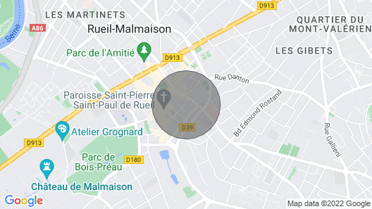 Studio 40 m² Rueil City-center - 9, rue du 4 Septembre Map