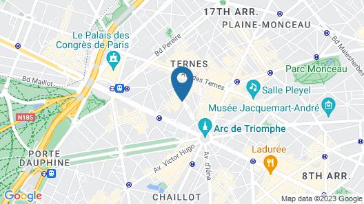 Hotel Astrid Map