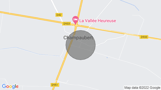 Gîte Chez Denise 9 People Map