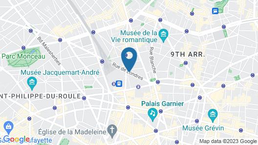 Hotel de Geneve Map