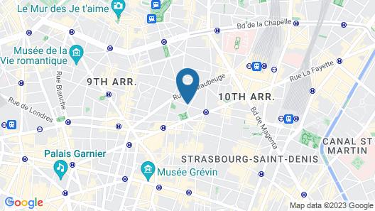 Hôtel Helussi Map