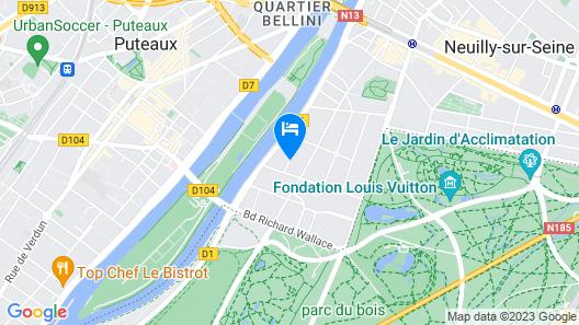 La Résidence Paris Map