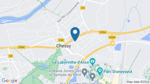 Les Jardins d'Orsonville Map