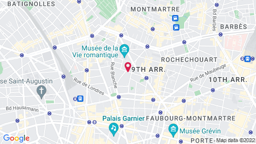 Hôtel Monterosa - Astotel Map