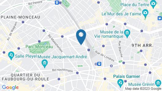 Best Western Premier Le Swann Map