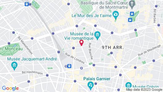 Hotel R de Paris Map