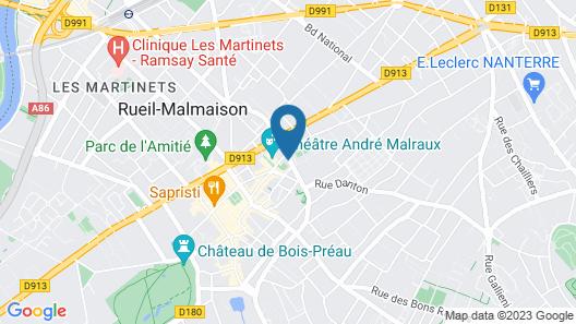ibis Paris Rueil Malmaison Map
