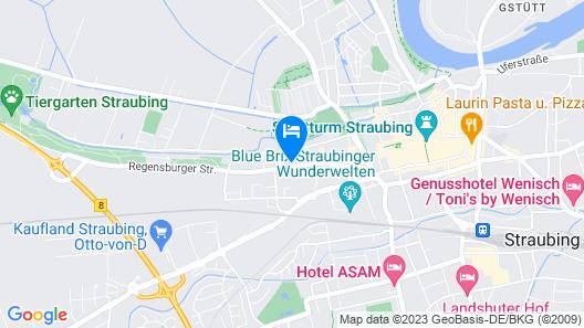 Hotel Restaurant Franziska Map