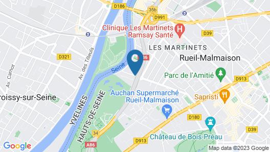 Le Relais de la Malmaison Hotel Spa Map
