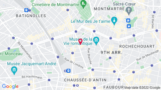 Hotel Le Cardinal Map
