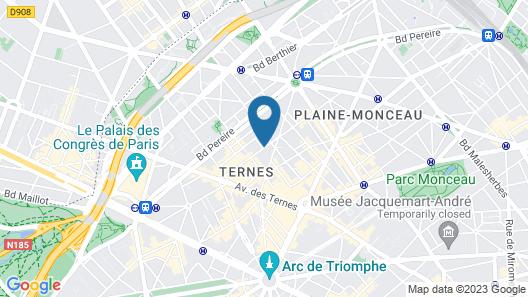 Hôtel Westside Arc de Triomphe Map