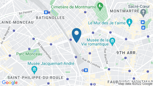 Hotel Astoria - Astotel Map