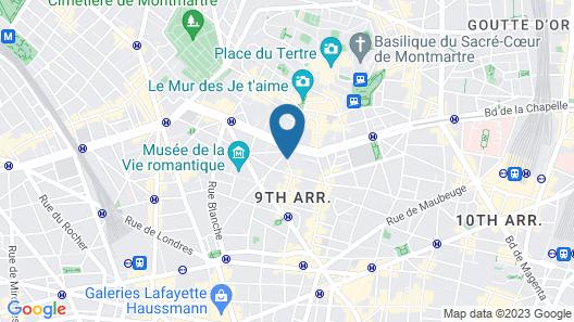 Le Pigalle Map