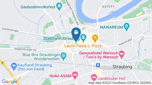 Hotel- Restaurant Seethaler Map