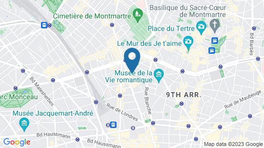 Milestay - Paris Montmartre Map
