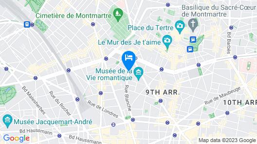 Hôtel R. Kipling by Happyculture Map