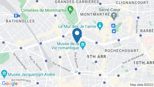 Hôtel Josephine by Happyculture Map