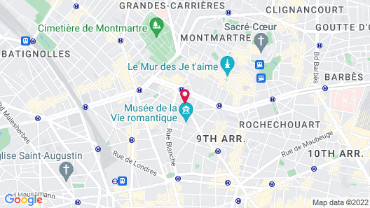Timhotel Opera Blanche Fontaine Map