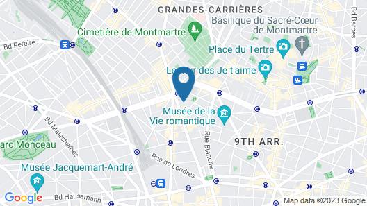 Hôtel Hector Map