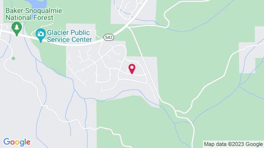 Mt. Baker Rim Cabin #8 Map