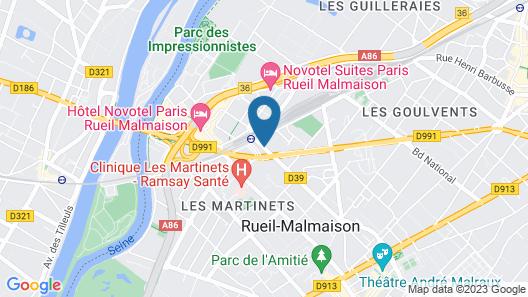 Résidence Odalys Paris Rueil Map