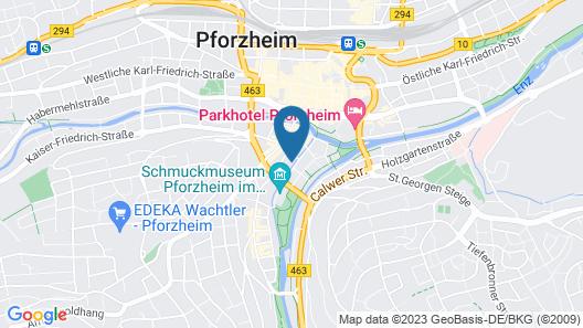 ibis Styles Pforzheim Map