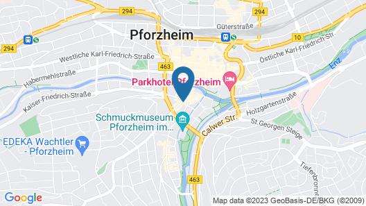 Hotel Gute Hoffnung Map