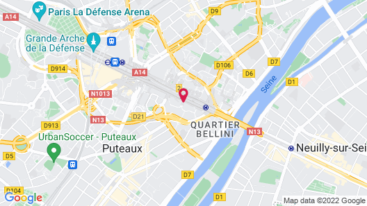 NEST Paris La Defense - MGallery (Ex Sofitel) Map