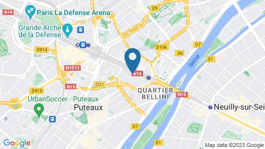 Mgallery Nest Paris la Defense (Ex Sofitel) Map