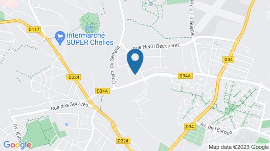 Premiere Classe Chelles Map