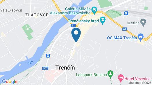 Penzion Exclusive Map