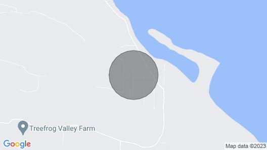 Morningside Garden Suite on Beautiful Salt Spring Island Map