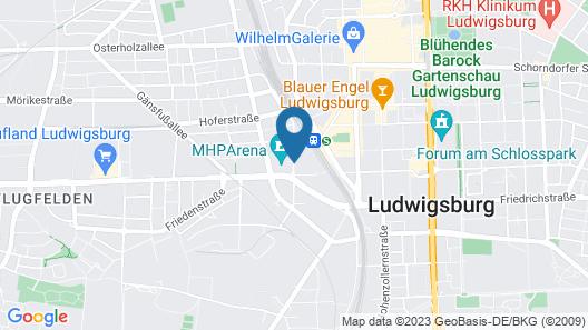 NH Ludwigsburg Map