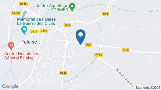 LA Maison DES Buis - Chambre Mathilde Map