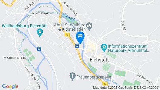 IBB Hotel Altmühltal-Eichstätt Map