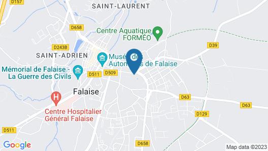 Les Prémontrés Map