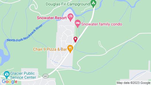 Snowater Condo #14 Map