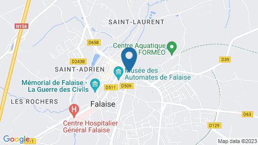 Hôtel de la poste Map