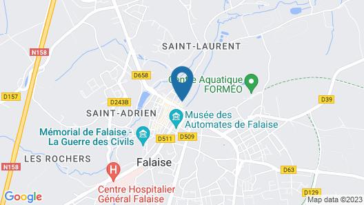 Castel Saint-Léonard Map