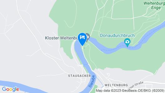 Gästehaus St. Georg Map