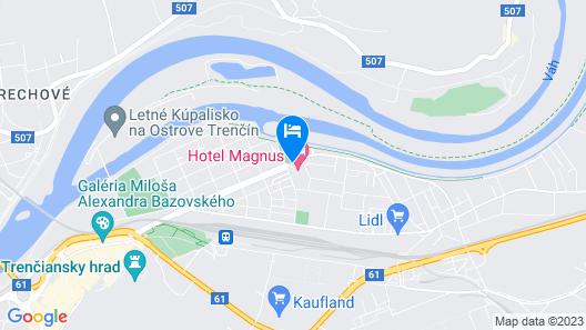 Hotel Magnus Map