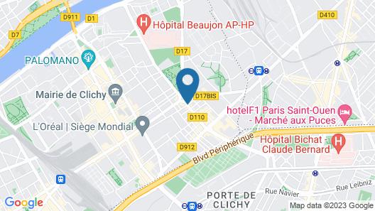 Hôtel Résidence Europe Map