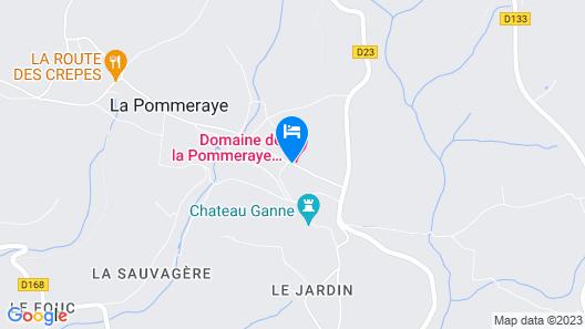 Au Domaine de la Pommeraye & Spa Map