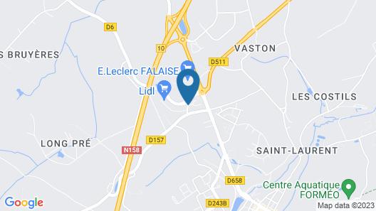 ibis Falaise Coeur de Normandie Map