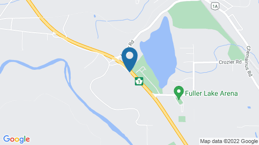 Fuller Lake Motel Map